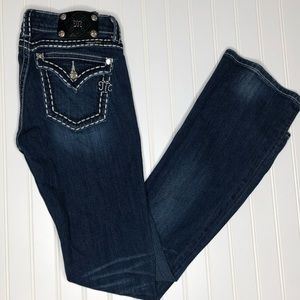 Miss Me bootcut jeans, size 28